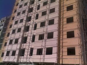 نمای پاششی - کنیتکس - نما - عایق کردن - نمای نانو - نمای ضد غبار - نمای مینرال - نمای گرانولیت - رنگ اکرلیک ساختمان